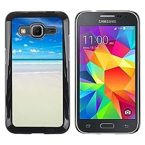 Pulsar Snap-on Series Teléfono Carcasa Funda Case Caso para Samsung Galaxy Core Prime / SM-G360 , Strand