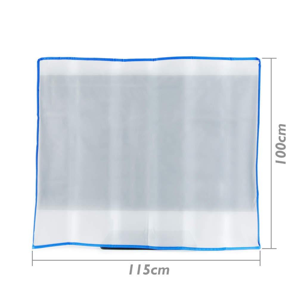 PrimeMatik - Copertina di Protezione Antipolvere in plastica per a Schermo TV 46'' 115x12x100 cm PrimeMatik.com