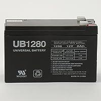 The BEST UPG Ub1280f2 Sla 12v 8ah .250 by UPG