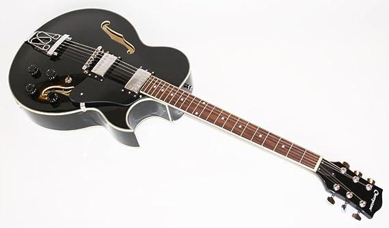 Cherrystone 0754235504924 Jazz - Guitarra eléctrica, color negro ...