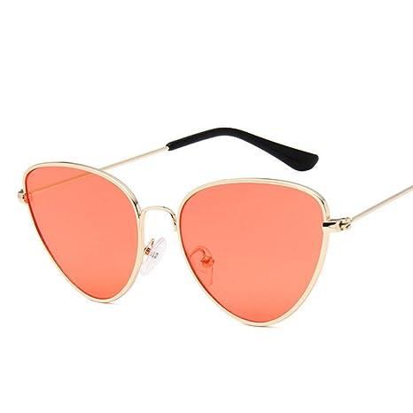 Yangjing-hl Vintage Cateye Gafas de Sol Mujer Diseñador de ...