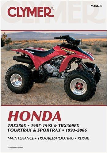 Buy Honda TRX250X 87 92 TRX300EX Fourtrax And Sportrax 93 06