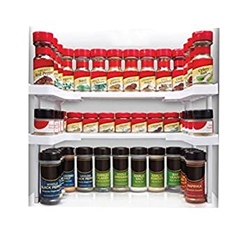 Spicy Shelf Spice Rack And Stackable Organizer, Adjustable, Easy To Use And  See All
