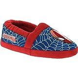 Best Marvel Indoor Slippers - Marvel Ultimate Spider-Man Spiderman Boys A-Line Slippers Slipper Review