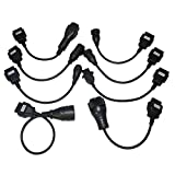 Truck adapter Cables Full Set 8 PCS/Set Cables for TCS CDP Pro OBD2 adapter Diagnotic Tool Connector