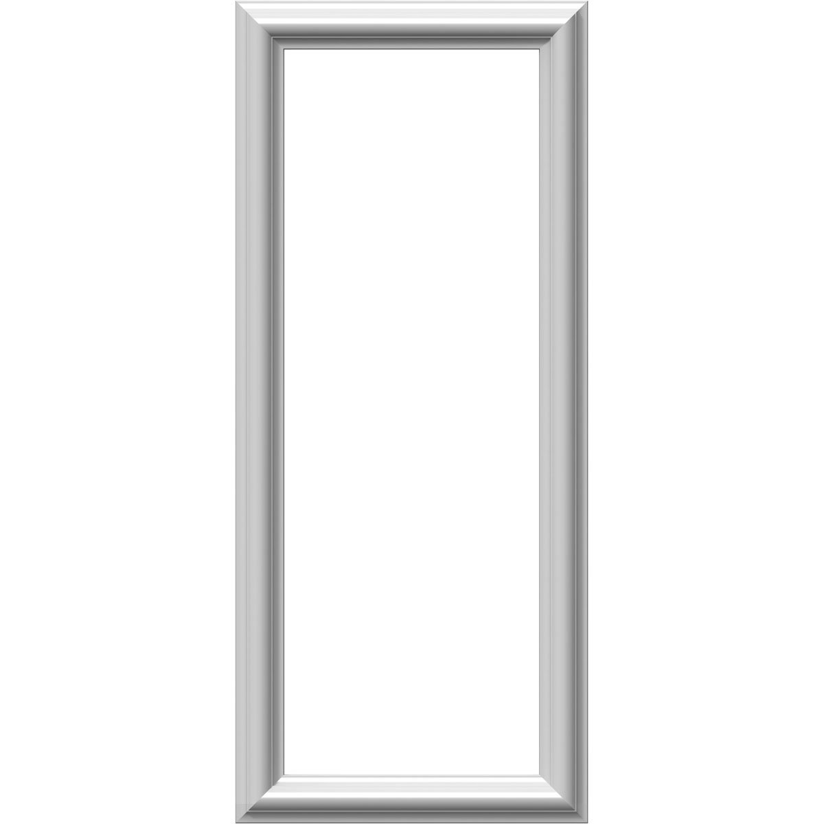 Ekena Millwork PNL12X28AS-01-CASE-4 12' W x 28' H x 1/2' P Ashford Molded Classic Wainscot Wall Panel (4-Pack), Factory Primed White, 4 Piece