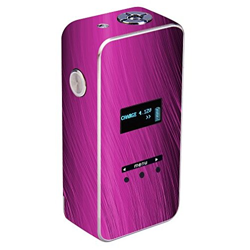 Decal Sticker Skin WRAP - SMY 50W TC - Purple Wavy Lines