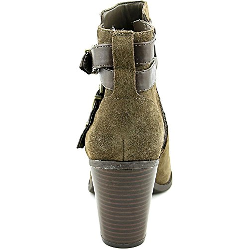 INC International Concepts Frauen Laini Geschlossener Zeh Leder Fashion Stiefel Braun Groesse 8.5 US /39.5 EU
