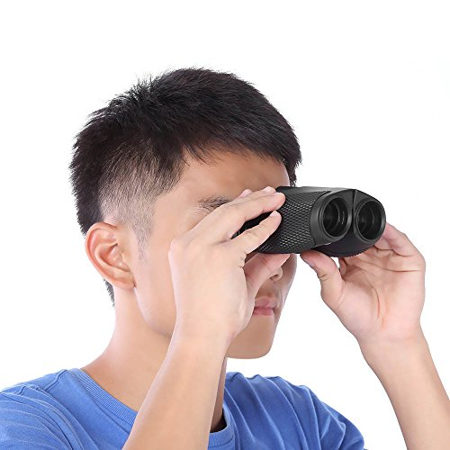 Ezyoutdoor 10x25 HD Binoculars Compact Clear Optical Prism FMC Lens Telescope with Low Light Night Vision Waterproof and Fogproof Surveillance Binoculars for Bird Watching Hunting Traveling - Costa Sunglasses Low Light