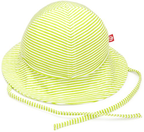 zutano-unisex-baby-upf-30-sun-protection-hat-lime-6-months-0-6-months