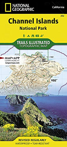 Island Santa - Channel Islands National Park (National Geographic Trails Illustrated Map)