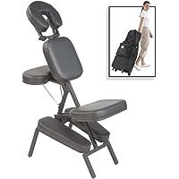 Master Massage Apollo Portable Massage Chair, Black