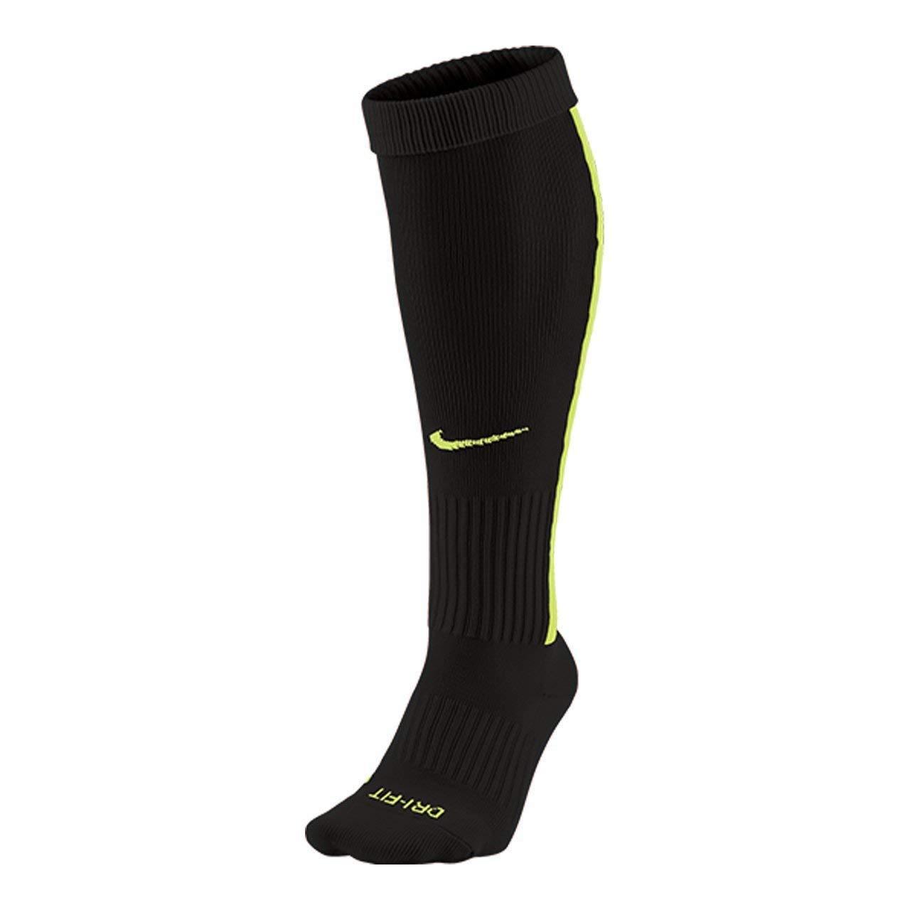 Nike Men`s Team MatchFit Core OTC Soccer Socks (Men's 8-12, Women's 10-13, Black(SX5732-011)) by Nike
