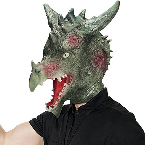 Dragon Head Mask for Halloween Party Carnival Mask Party