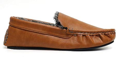 Mocasines George de Dunlop para hombre, con forro sintético y con suela de goma, color, talla 45 EU