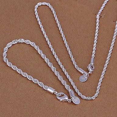 Green copper twisted rope flash piece LKNSPCS051