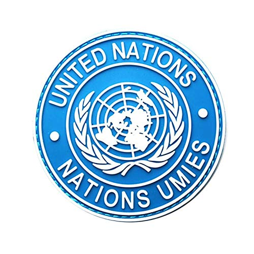 - Ants-Store - Cool International U.N UN United Nations Shoulder Badge for uniforms, outwear or fleece jacket sleeves 3.15
