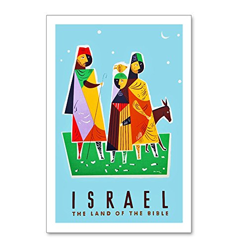 CafePress - Israel Travel Poster 2 - Postcards (Package of 8), 6