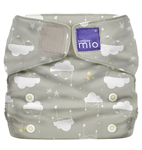 Bambino Mio Miosolo All-in-One Reusable Nappy, Cloud Nine