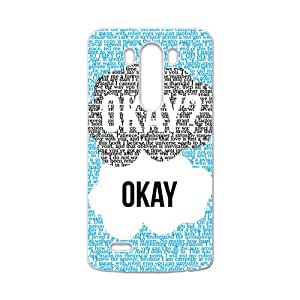 Fresh warm dialogue Cell Phone Case for LG G3