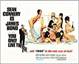 james bond vintage - 2 x 3 Magnet You Only Live Twice with James Bond Vintage Movie Magnet