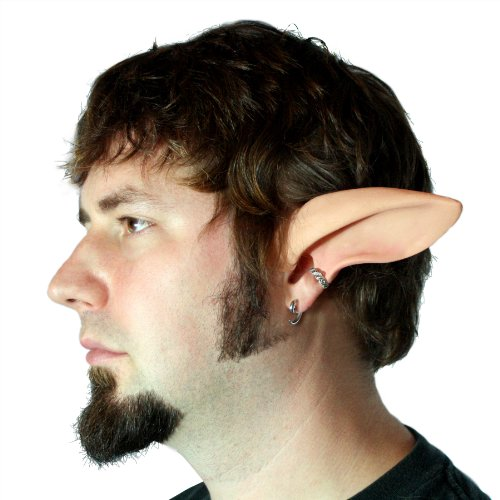 [Aradani Costumes Faun, Satyr, Elf Ears - Ear Tips by Aradani Costumes] (Satyr Halloween Costumes)