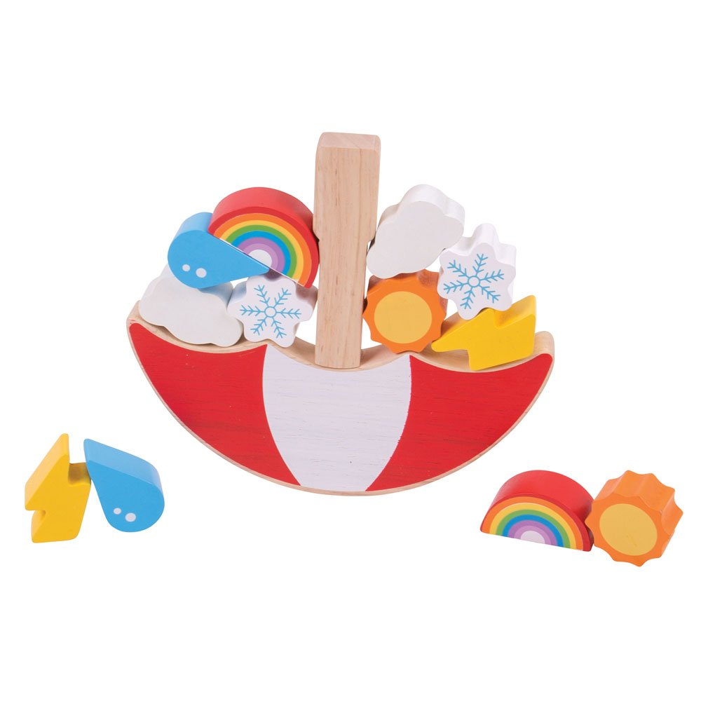Bigjigs Toys Weather Balancing Game by Bigjigs Toys