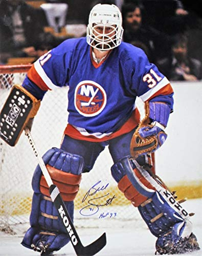 Autographed Signed 16 X 20 Billy Smith New York Islanders 16 X 20 Photo With Coa - Certified Authentic ()