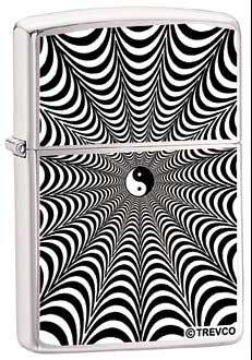 Zippo Lighter - Infinity Yin and Yang