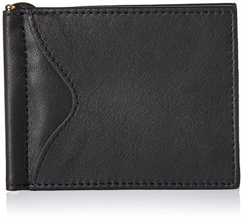Dinero De De Los La Metro De Cartera Bolsillo De Exterior Hombres Cuero Efectivo En Clip De Con negro Royce Colección x8Tq8E