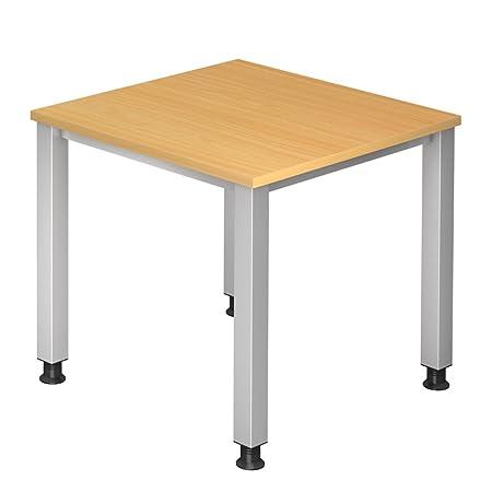 Dr de oficina escritorio 80 x 80 cm - Altura regulable 68 - 83 cm ...
