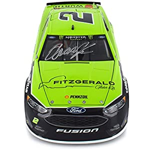 Lionel Racing Autographed Brad Keselowski 2017 Fitzgerald NASCAR Diecast 1:24 Scale