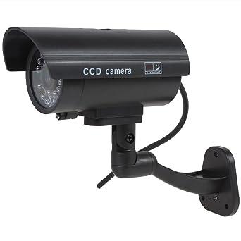 Origlam Falso cámara Falsa Seguridad cámaras de Seguridad cámara de vigilancia para Uso doméstico al Abierto