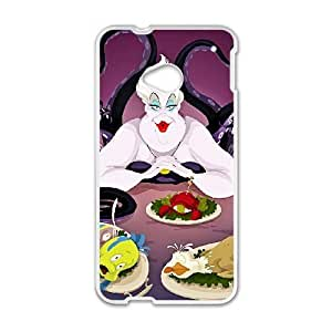 HTC One M7 White phone case Disney villains Ursula DSV2571369
