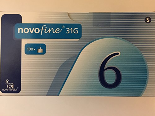 Novofine 6Mm 31G Pen Needles