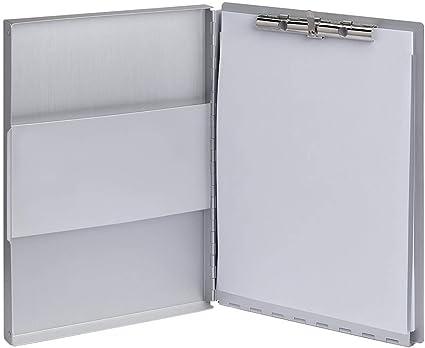 Maulassist 2354609 - Carpeta portadocumentos (aluminio, con caja, DIN A4, 1 unidad): Amazon.es: Oficina y papelería