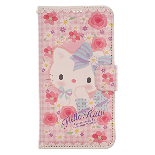 iPhone SE/iPhone 5S / iPhone 5 Case Hello Kitty Cute Diary Wallet Flip Synthetic Leather Anti-Shock Mirror Cover for [ Apple iPhone SE / 5S / 5 ] Case - - Case 5s Kitty Hello