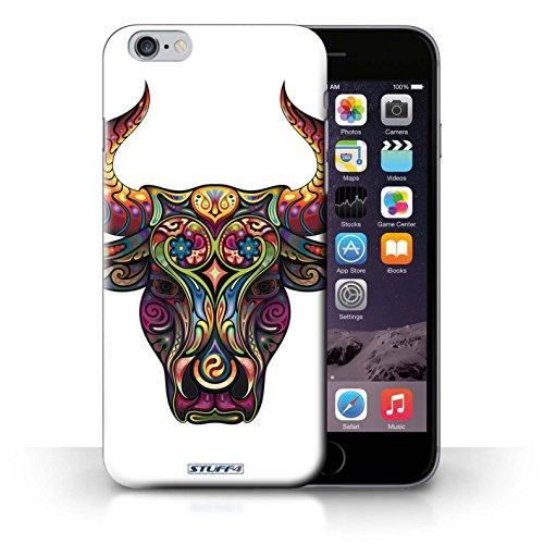 Hülle Case für iPhone 6+/Plus 5.5 / Stier Entwurf / Deko-Tiere Collection