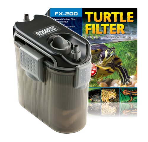 ExoTerra External Turtle Filter for Aquarium (Turtle Filtration Tank)