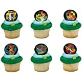 The Lion Guard Mark Of The Guard Cupcake Rings - 24 ct