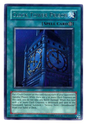 Yu-Gi-Oh! - Clock Tower Prison (DP05-EN016) - Duelist Pack 5 Aster Phoenix - 1st Edition - Rare - Aster Phoenix Duelist Pack