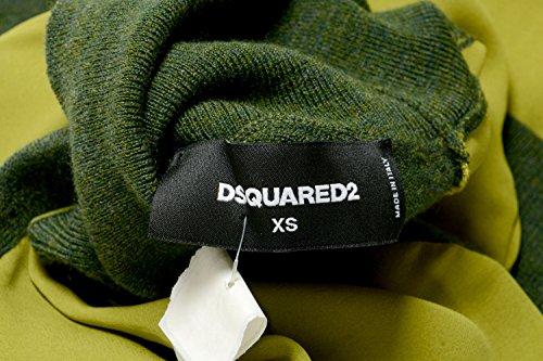 Verde Abito Donne 38 Xs Maglione Lana Maglia Seta A È Delle Ci Dolcevita Dsquared2 FtvqUwx
