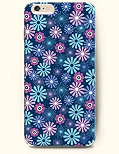 iPhone 6 Plus Case 5.5 Inches Bright Flowers - Hard Back Plastic Case OOFIT Authentic by supermalls
