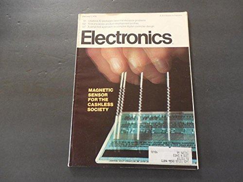 Electronics Feb 1 1973 Mag Sensor For The Cashless Society (Gasp)