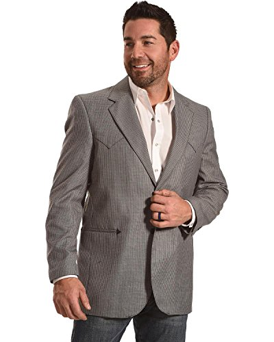 Blazer City (Circle S Men's Carson City Graphite Sport Coat Big and Tall Grey 50 TAL)