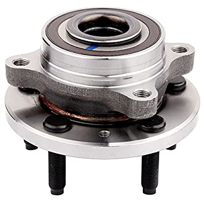 AUTOMUTO 513275 Wheel Hub Bearing Front/Rear 5 Lugs Non-ABS Sensor Replacement fit Ford Edge Taurus Lincoln MKS MKT 2009-2016: Automotive