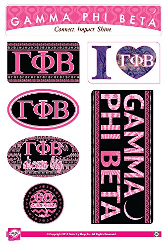 fc985dbc Image Unavailable. Image not available for. Color: Gamma Phi Beta - Sticker  ...