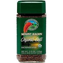 Mount Hagen Organic Freeze Dried Instant Decaf Coffee, 3.53 oz