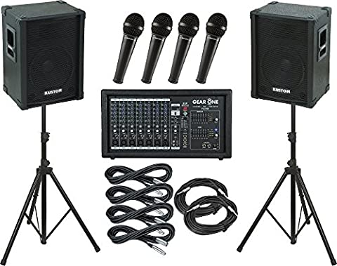 Gear One PA2400 Kustom KPC12 PA Package - Pa System Package