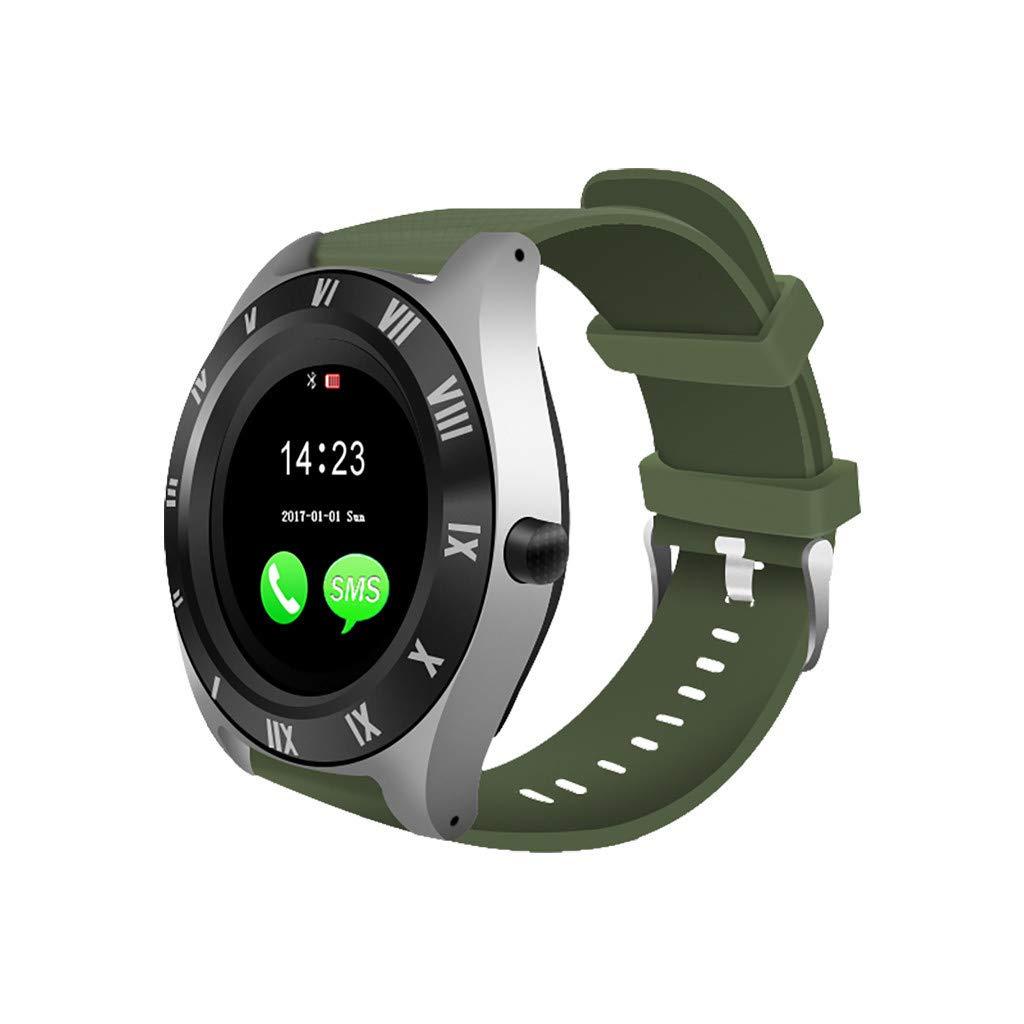 Amazon.com: Bravetoshop Smart Watch, Bluetooth Touchscreen ...